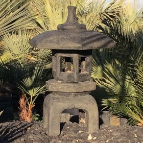 Lanterne pagode japonaise Tokyo, 70 cm
