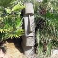 Statue Moaï Ile de Pâques en pierre basanite (ref M2)